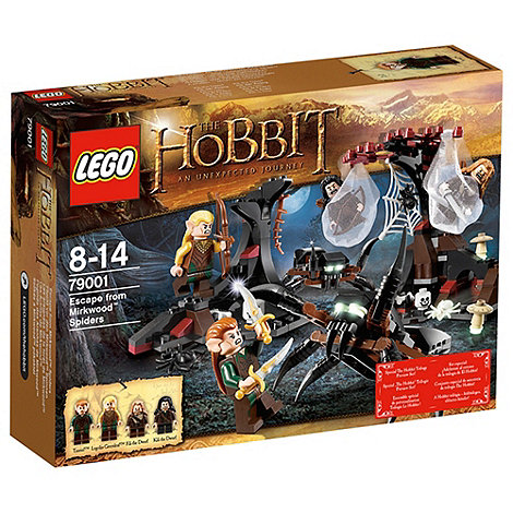 LEGO - Escape from Mirkwood Spiders - 79001