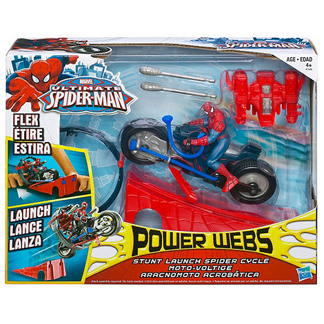 Spider-man - Power Webs Spider Bike