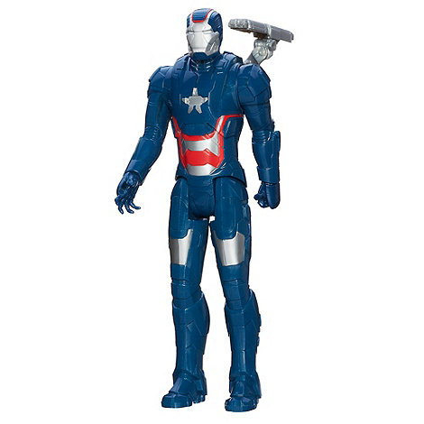 Iron Man - Titan Hero - Iron Patriot Figure
