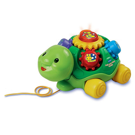 VTech - Pull and Play Turtle