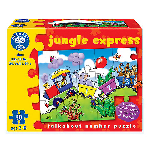Orchard Toys - Jungle express jigsaw puzzle