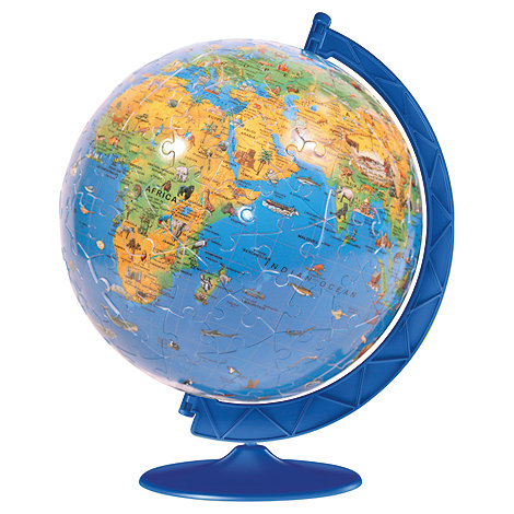 Ravensburger - Children+s World Map 3D 180 piece puzzle