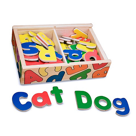 Melissa & Doug - Magnetic Wooden Letters