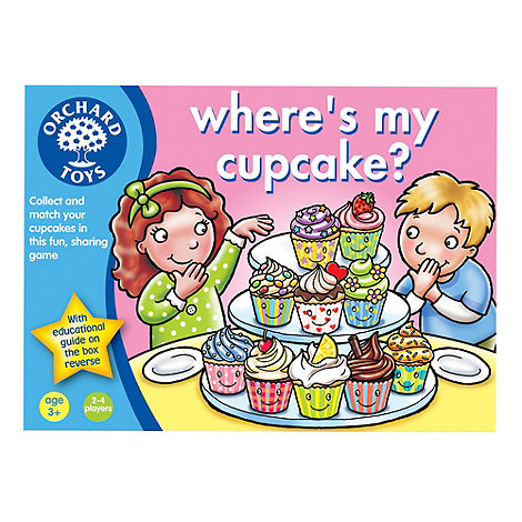 Orchard Toys - Where+s my cupcake game