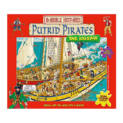 Horrible Histories - Putrid Pirates jigsaw puzzle