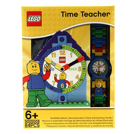 LEGO - Time teacher Boy watch with constructible clock