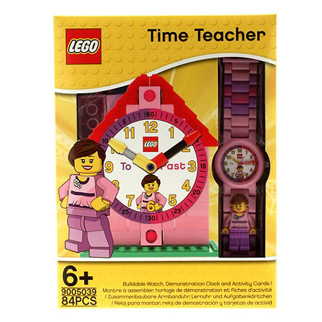 LEGO - Time teacher Girl watch with constructible clock