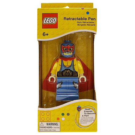 LEGO - Retractable Pen - Wrestler