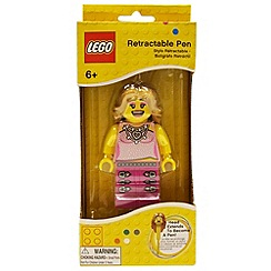 Lego - Retractable Pen - Girl