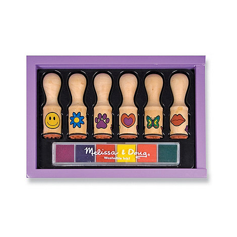 Melissa & Doug - Happy Handle Stamp Set