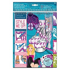 Style Me Up - Rockstar designer Sketchbook - Trendy Footwear