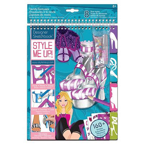 Style Me Up - Rockstar designer Sketchbook - Trendy Footwear