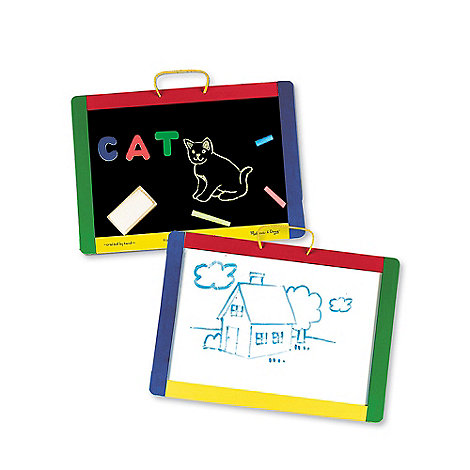 Melissa & Doug - Magnetic Chalkboard/Dry-Erase Board
