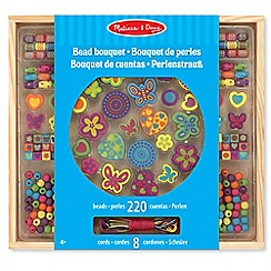 Melissa & Doug - Wooden Bead Bouquet