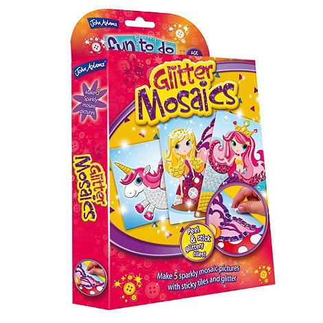 John Adams - Glitter Mosaics