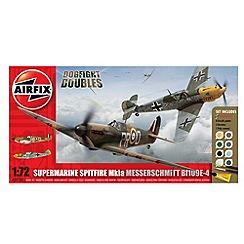 Airfix - 1:72 Scale Spitfire V Messerschmitt 109 Dogfight