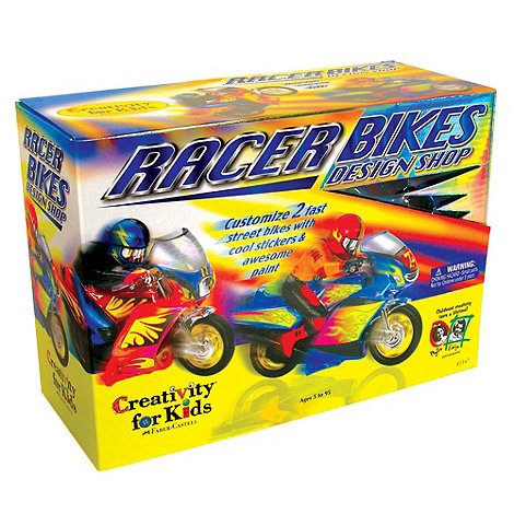Creativity for Kids - Racer Bikes Design Shop