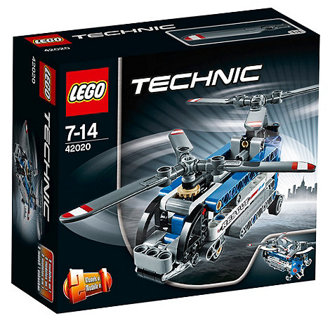 LEGO - Technic Twin-rotor Helicopter - 42020