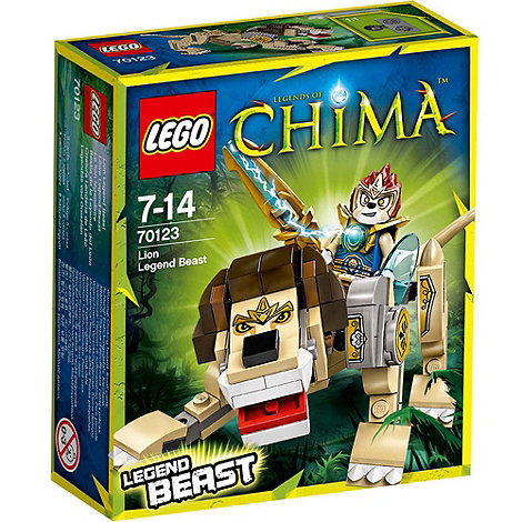 LEGO - Legends of Chima Lion Legend Beast - 70123