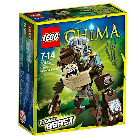 LEGO - Legends of Chima Gorilla Legend Beast - 70125