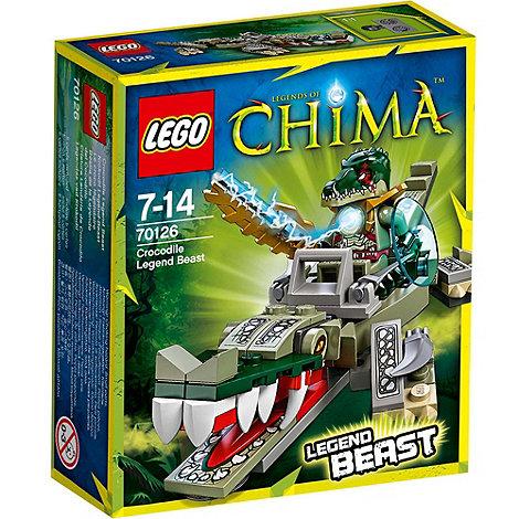 LEGO - Legends of Chima Crocodile Legend Beast - 70126