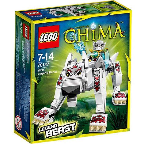 LEGO - Legends of Chima Wolf Legend Beast - 70127