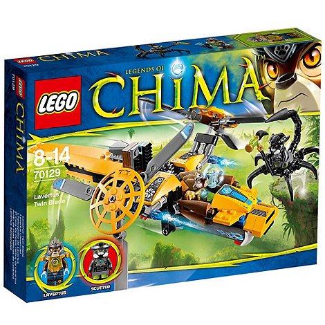 LEGO - Legends of Chima Lavertus+ Twin Blade - 70129