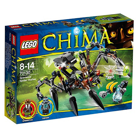 LEGO - Legends of Chima Sparratus+ Spider Stalker - 70130