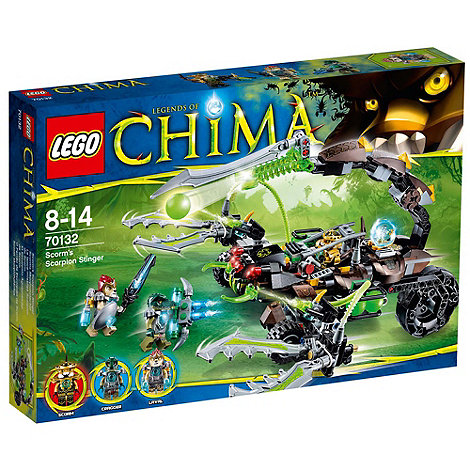 LEGO - Legends of Chima Scorm+s Scorpion Stinger - 70132