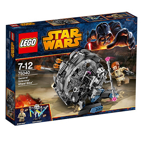 LEGO - Star Wars General Grievous+ Wheel Bike - 75040