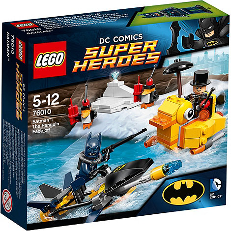 LEGO - Super Heroes - DC Comics Batman: The Penguin Face off - 76010