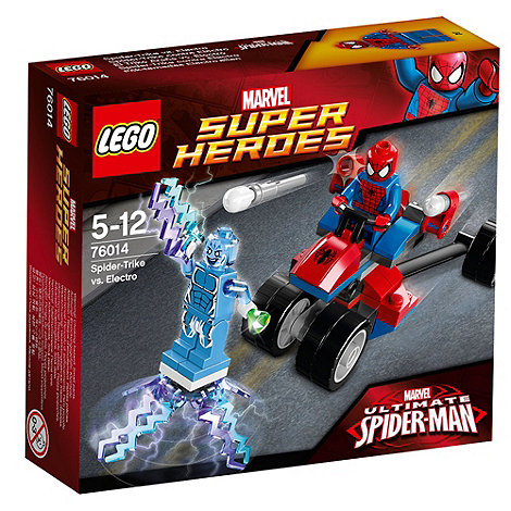 LEGO - Super Heroes - Marvel Comics Spider-Trike vs. Electro - 76014