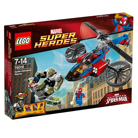 LEGO - Super Heroes - Marvel Comics Spider-Helicopter Rescue - 76016