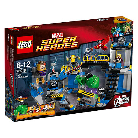 LEGO - Super Heroes - Marvel Comics Hulk Lab Smash - 76018