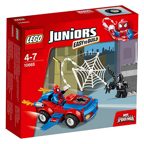 LEGO - Juniors Spider-Man: Spider-Car Pursuit - 10665