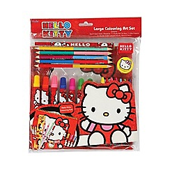 Hello Kitty - Large Colouring Art Set