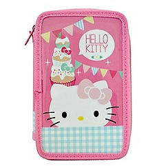 Hello Kitty - Tea Party Double Tier Pencil Case
