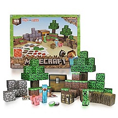 Minecraft - Paper Craft Overworld Deluxe Pack (Over 90 pieces)