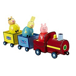 Peppa Pig - Weebles Pull-Along Wobbily Train