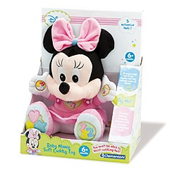 Disney - Baby Talking Plush Minnie