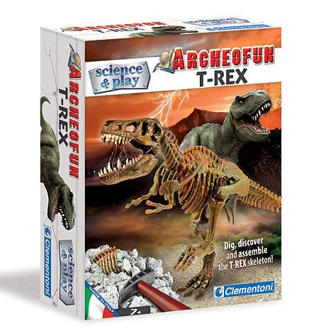Clemontoni - Science & Play Archeofun Dig Line T-Rex