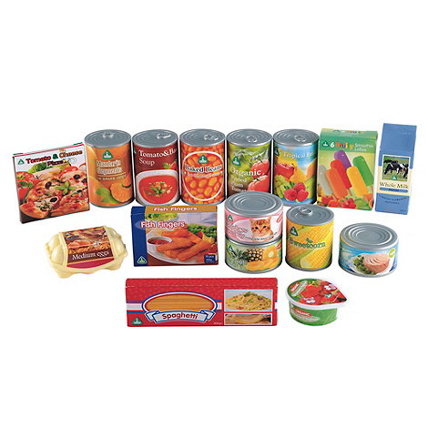 Early Learning Centre - Play Food Groceries & Cans