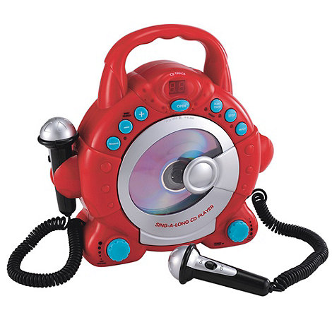 Early Learning Centre - Sing Along Cd Player - Red