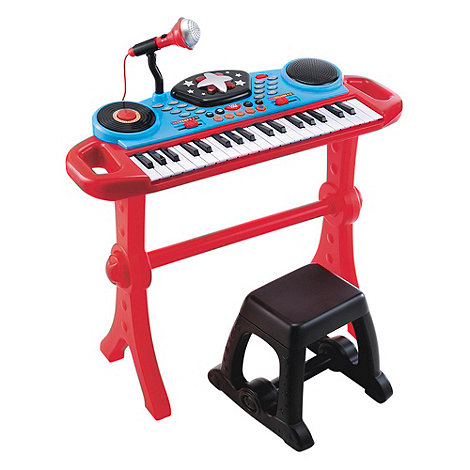 Early Learning Centre - Keyboard & Stool - Red