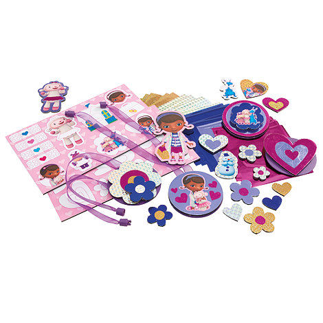 Doc McStuffins - Cool Create Sticker Scratcherz