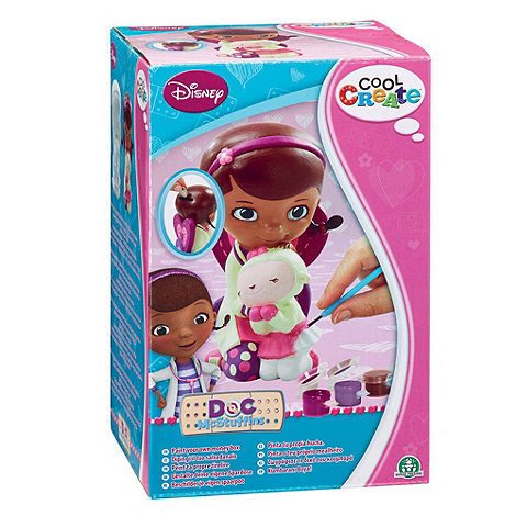 Doc McStuffins - Cool Create Paint Your Own Moneybox