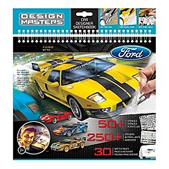 Debenhams - Design Master Ford Gt Sketchbook
