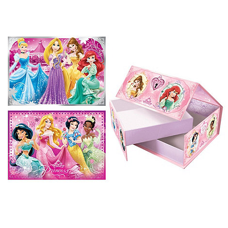 Disney Princess - 2 in 1 Puzzle Gift Box