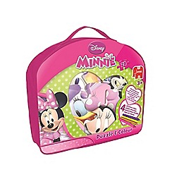 Minnie Mouse - Puzzle & Colour Case