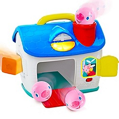 Bright Starts - Having A Ball 3 Little Piggies Playhouse
